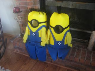 Dylan wants to be a minion for Halloween and this is the best I've seen yet!!