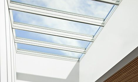 Het glazen plafond   VELUX modulaire lichtstraten