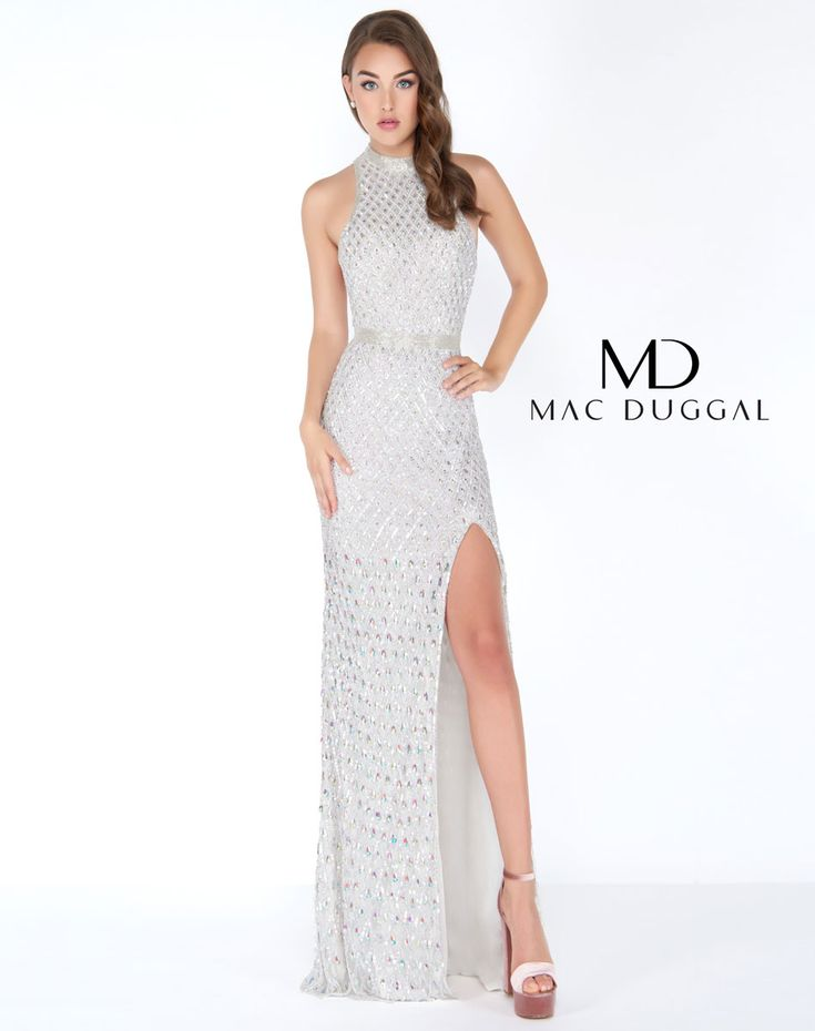 128 best White always wins! images on Pinterest | Mac duggal, Prom ...