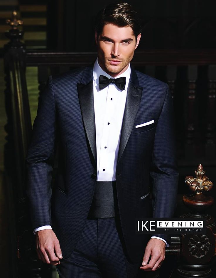 New Ike Behar Tuxedo--nice design