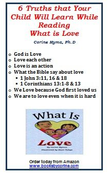 Does your child know the #Biblical definition of #love? They will after the read this great book. What is Love is a Bible based picture book that is designed to help children understand what love is. In the story, twins have just learned what the Bible says about love. Come join them as they bring to life 1 John 3:11, 16-18 and 1 Corinthians 13:1-8a & 13 in a way that is easy for children to understand. Each page includes a Bible verse.