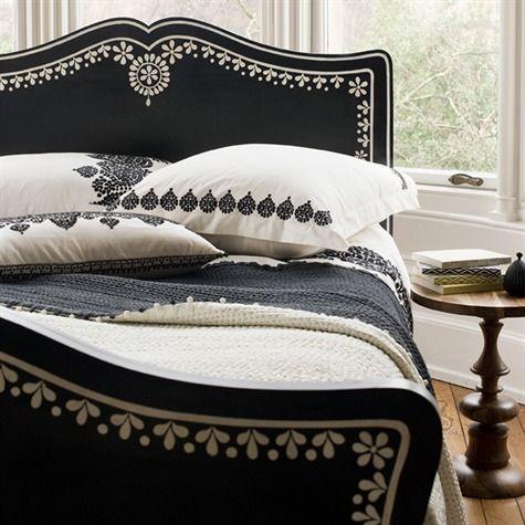 """...niki jones has her own range of luxury furniture, bedlinen and delightful trinkets..."" this is just lovely"