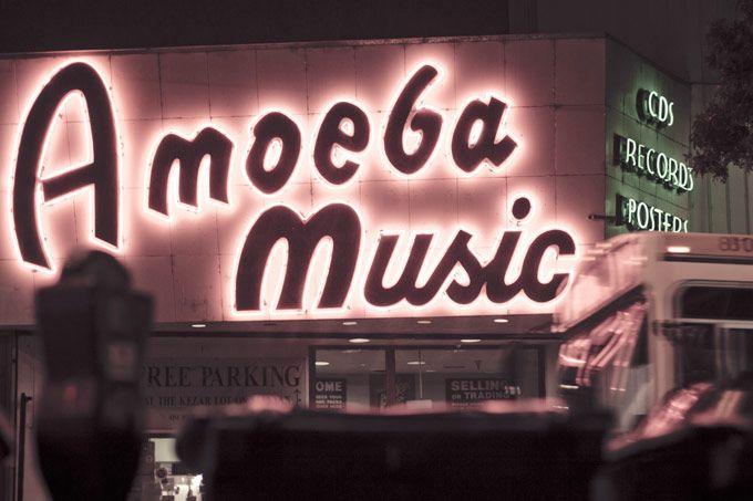 Amoeba Music: Haight Street, San Francisco, California / photo by Beer & Coffee