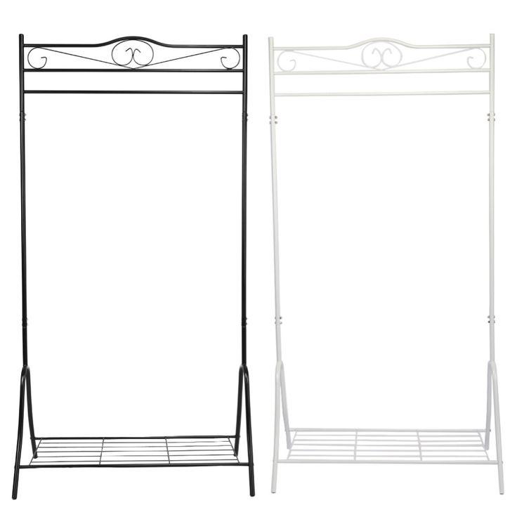 Luxury Edelstahl Schlafzimmer M bel Kleidung Mantel Hut Rack Mit Wohnzimmer Lagerung Schuh Bench Flur Hanger Organizer