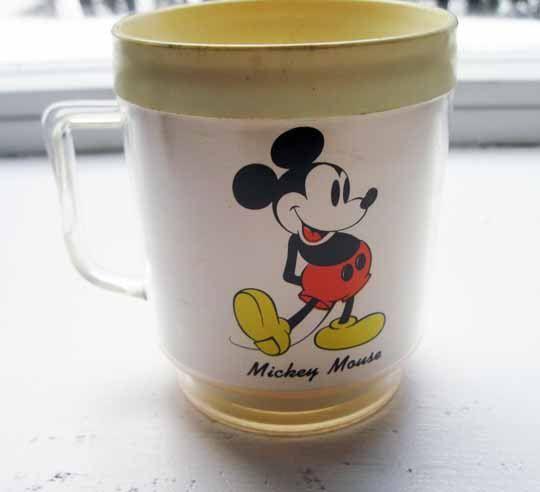 Vintage Walt Disney Mickey Mouse Mug On Etsy 8 00