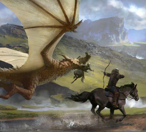 Fantasy Art Engine | Dragons by Arnaud Pheu