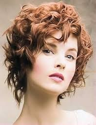 Image result for perming fine thin short hair