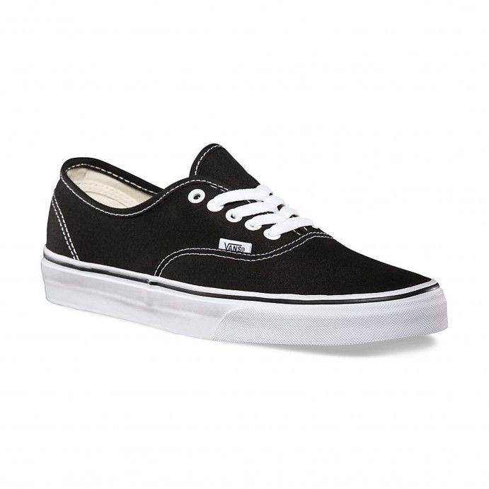 Vans Chaussures Authentic Black - Vans France Boutique en ligne officielle
