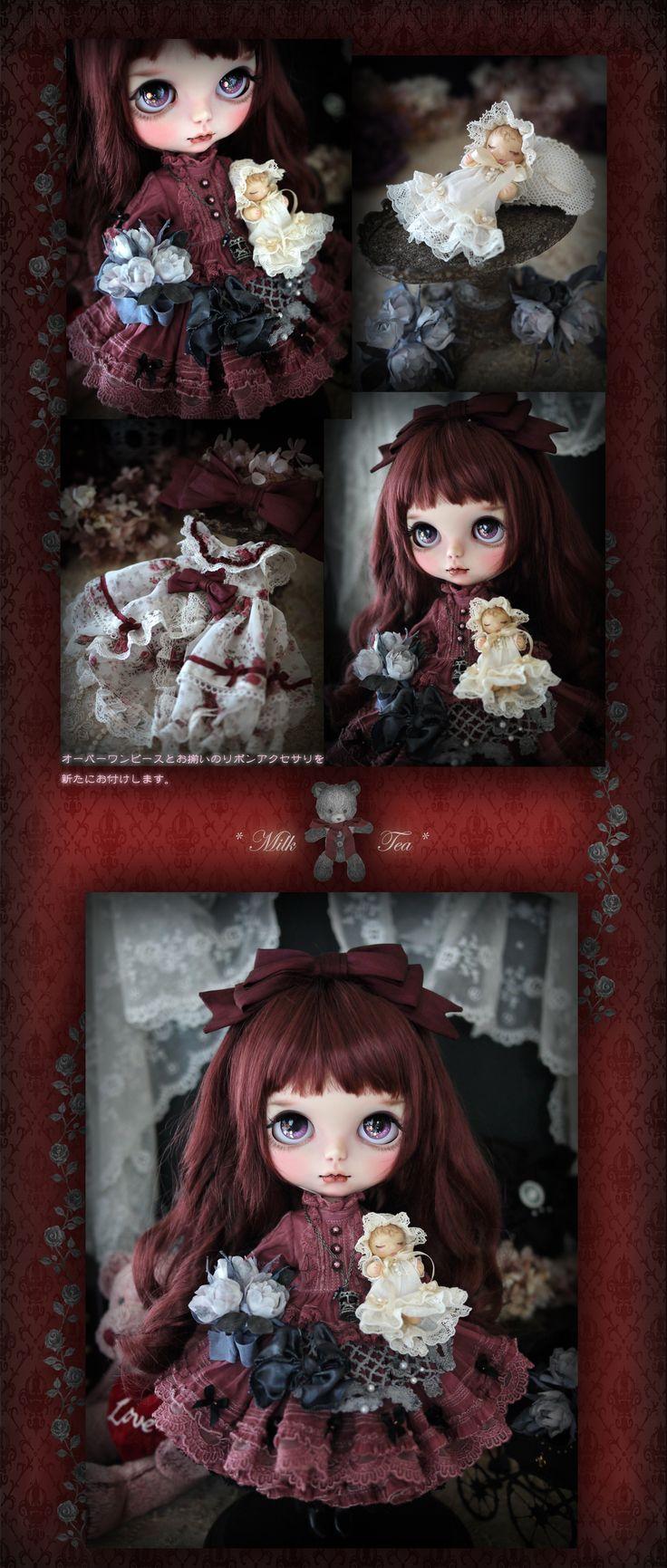 Gothic red #Blythe