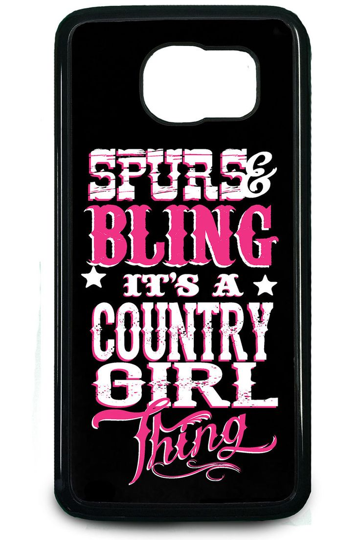Country Girl Store - Country Girl® Spurs And Bling Samsung Galaxy S6 Case/Cover, $19.95 (http://www.countrygirlstore.com/accessories/phone-cases/country-girl-spurs-and-bling-samsung-galaxy-s6-case-cover/)