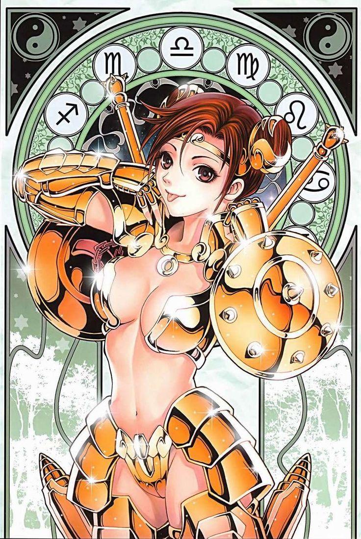 Saint Seiya Female Libra