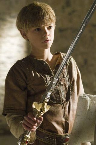 """I think this sword is too big for me."" ~Edward:"