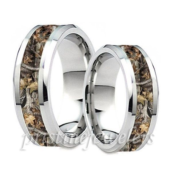 Best 20 Hunting wedding rings ideas on Pinterest Camo wedding