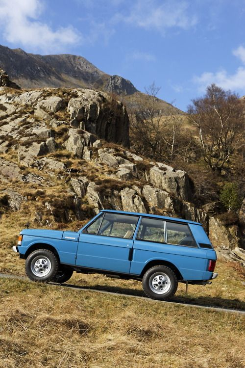 Range Rover Classic 1970; first off the production line.
