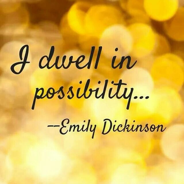 Possibility!