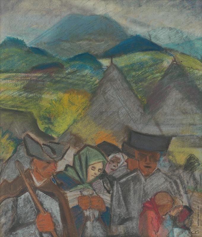 Arnold Peter Weisz-Kubínčan: Z poľa domov:1930 - 1933