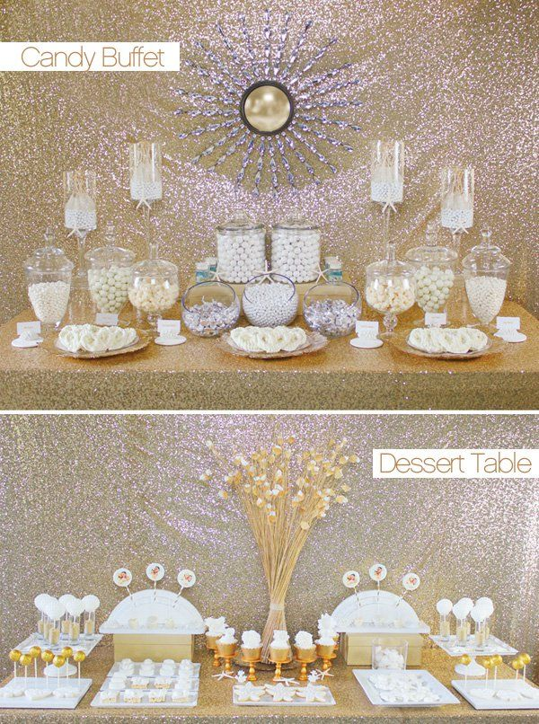 the look for less candy buffet vs dessert tables