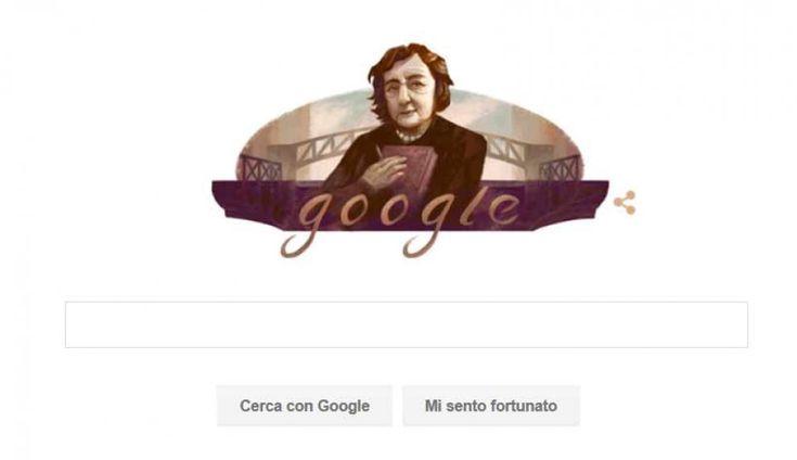 Alda Merini nasceva 85 anni fa. Un doodle per la poetessa dei Navigli