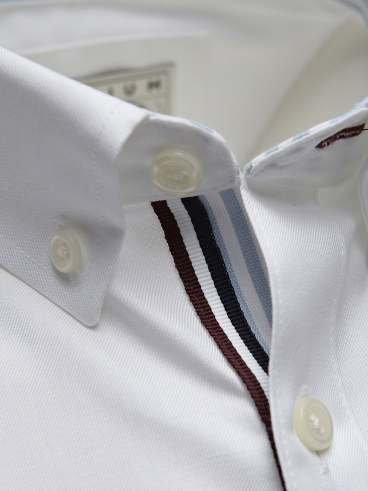 "Porter Shirt. Love the detailing; great way to add interest to a ""boring"" white shirt"