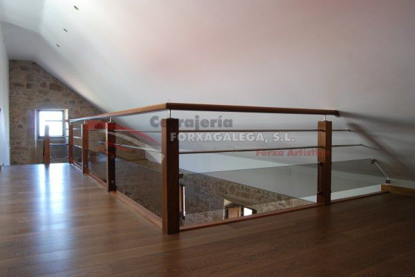 M s de 1000 ideas sobre pasamanos de madera en pinterest - Pasamanos escaleras interiores ...