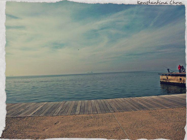 A little something made by me... Κάτι δικό μου: Μελαγχολία, παραλία Θεσσαλονίκης