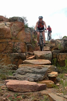 Mountain biking at Mount Anderson near Lydenburg is a perfect escape from the rat race