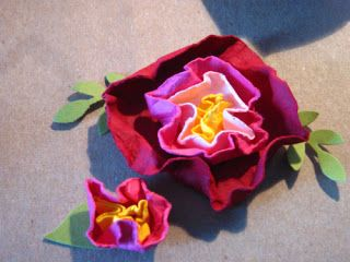 Rose: Using four kind of Circle Punches