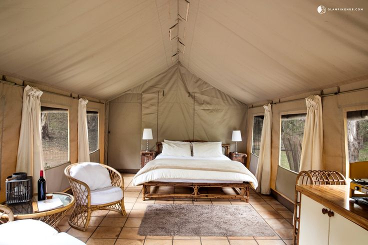 Rustic Luxury: Glamping In Australia  Check out these quality Aussie sites by Destinations Magazine!