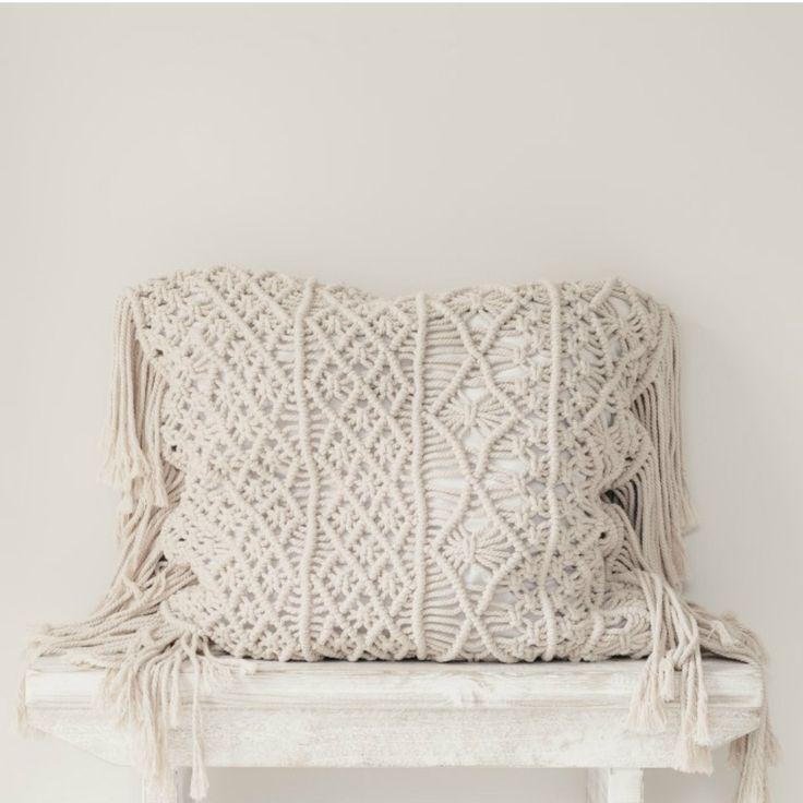 Indrani Macrame Cushion