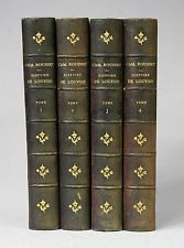 Histoire de Louvois Louis XIV Vauban Turenne Camille Rousset É.O. 4Vol/4 1862