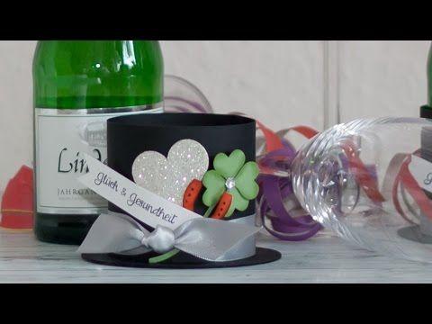 ▶ DIY - Silvester Tischdekoration mit Stampin' Up! Produkten - YouTube