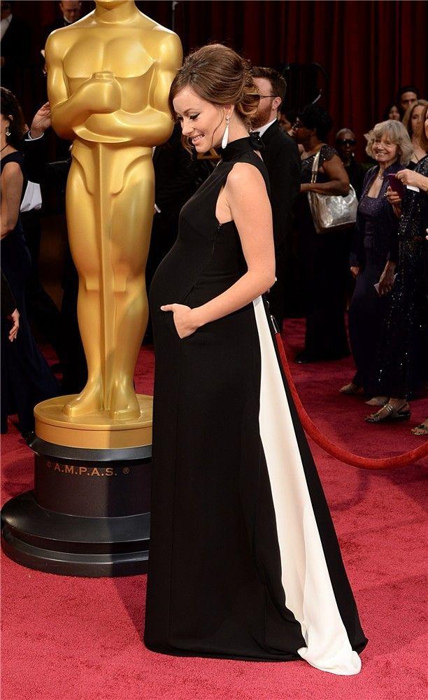 Premios Oscar 2014: Olivia Wilde, embarazada, con un vestido de Valentino