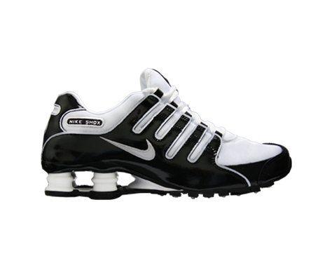 Nike Shox NZ Womens Running Shoes Black / White