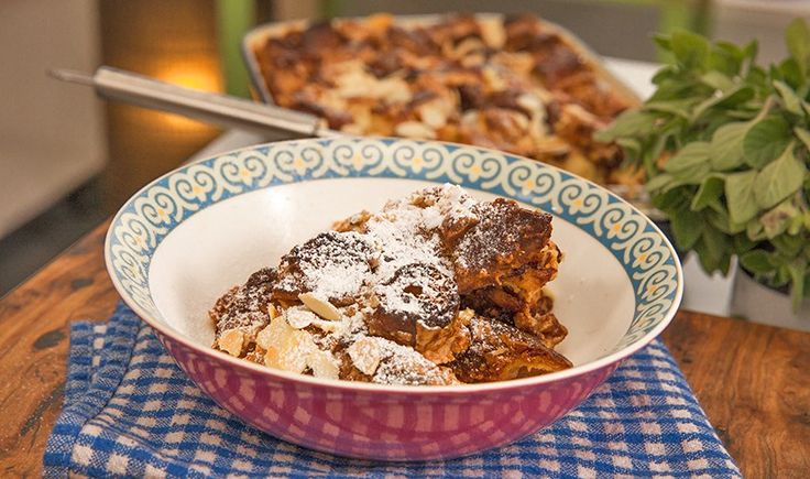 Bread and Butter Pudding with Doughnuts