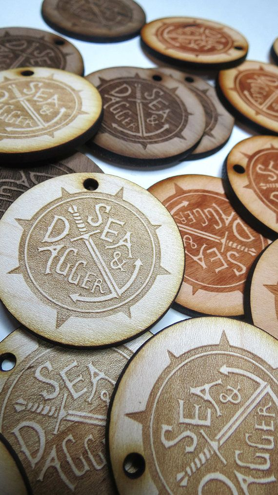 Custom Wood Tags, Custom Engraved Tags by GrainDEEP