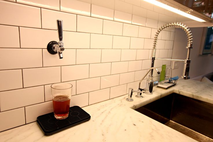 of course!  a tap in the kitchen.  Habitats | Clinton Hill, Brooklyn - Slide Show - NYTimes.com