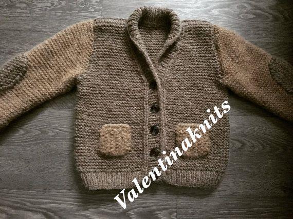 children knit cardigan от ValentinaknitsG на Etsy
