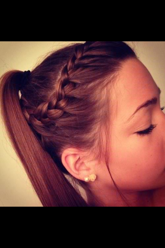 Wondrous 1000 Images About Cute Hair On Pinterest Teen Haircuts Braids Hairstyle Inspiration Daily Dogsangcom