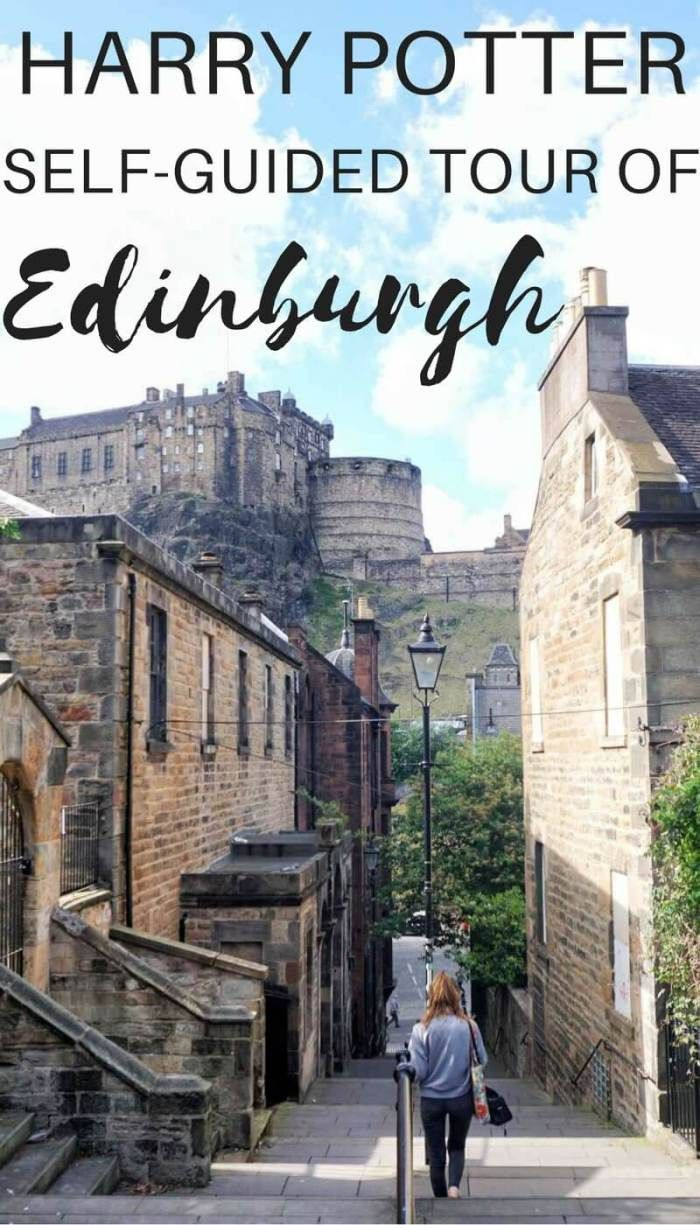 Self guided Harry Potter Tour of Edinburgh, Scotland. Travel in Europe.