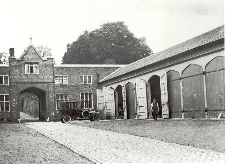 Photo of the stables and coachhouse at Cobham Hall