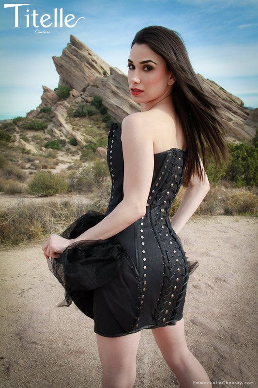 TITELLE dress corset  The Spine 2012 / handmade by TitelleCouture, $750.00