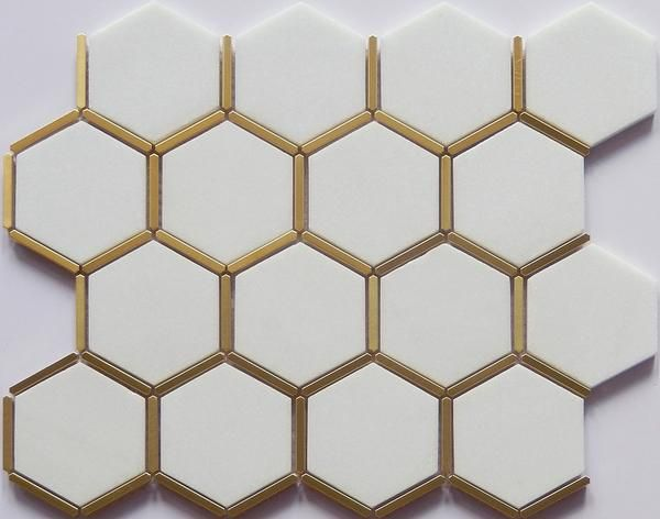 white gold bathroom decor gold tile