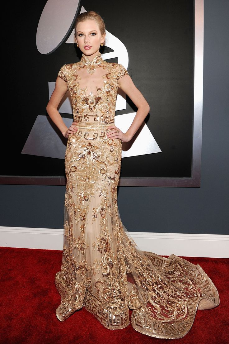 Taylor Swuft. Grammy Awards 2012