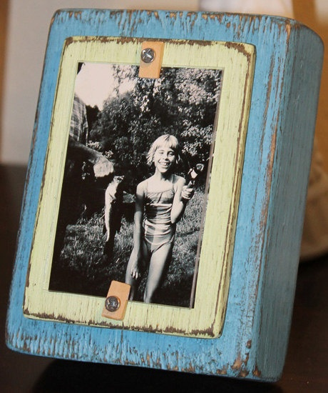 wooden block picture frame picture frame s pic frames frames ideas rustic crafts rustic diy country crafts frames other work prodjects