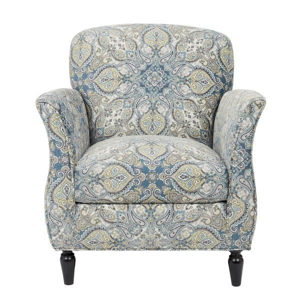 Wainfleet Armchair Blue Accent Chairs Armchair Accent Arm Chairs