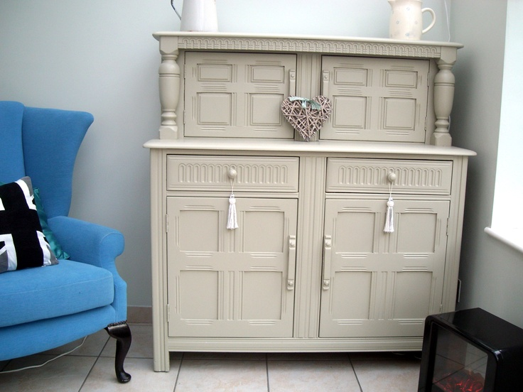 old dresser i painted with farrow and ball eggshell french. Black Bedroom Furniture Sets. Home Design Ideas