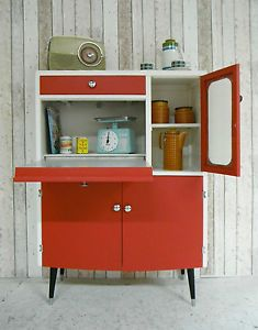 vintage retro kitchen cabinet larder kitchenette 50s 60 u0027s free standing best 25  retro kitchens ideas on pinterest   vintage kitchen farm      rh   pinterest com