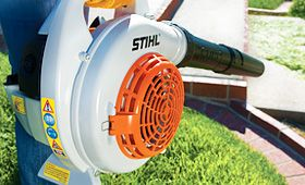Come take a look at Mountain Hardwares variety of Stihl blowers and shredder vacs! All you need for fall!