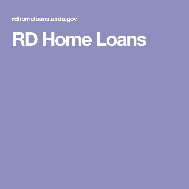 www rdhomeloans usda gov
