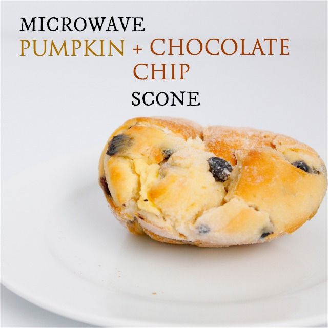 A Microwave Pumpkin Chocolate Chip Scone- Ready in under 3 ...